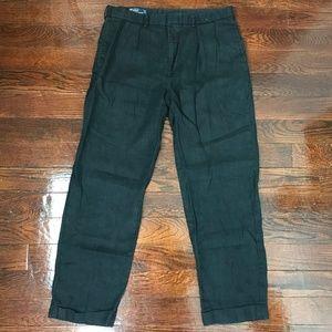 Polo Ralph Lauren Dress Pants Cuffed Hem Sz 36/32